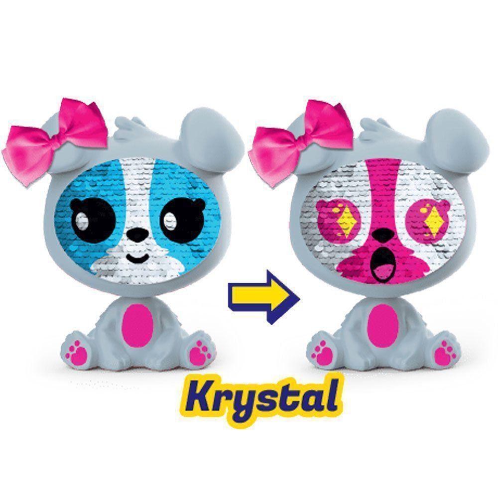 Boneca Zequins Emoções que Brilham Krystal Série 1 Dtc 4840