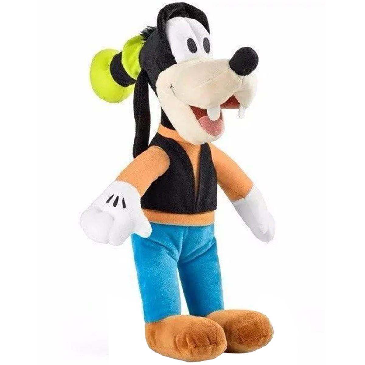Boneco De Pelúcia Pateta Disney Com Som 33cm Multikids Br336