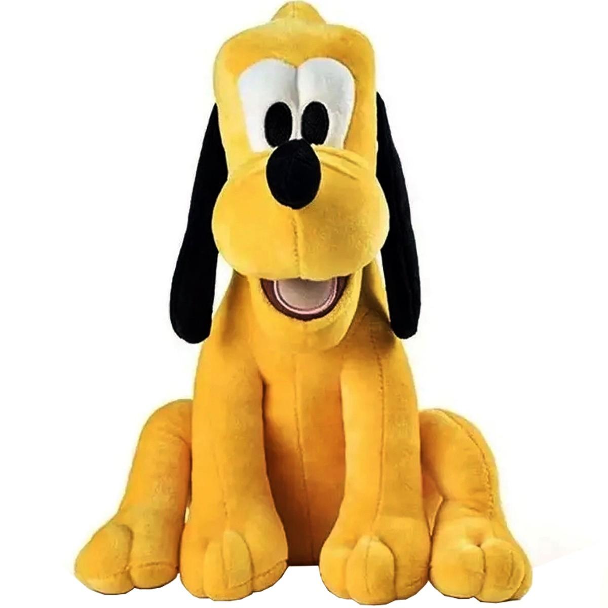 Boneco De Pelúcia Pluto Disney Com Som 33cm Multikids Br337
