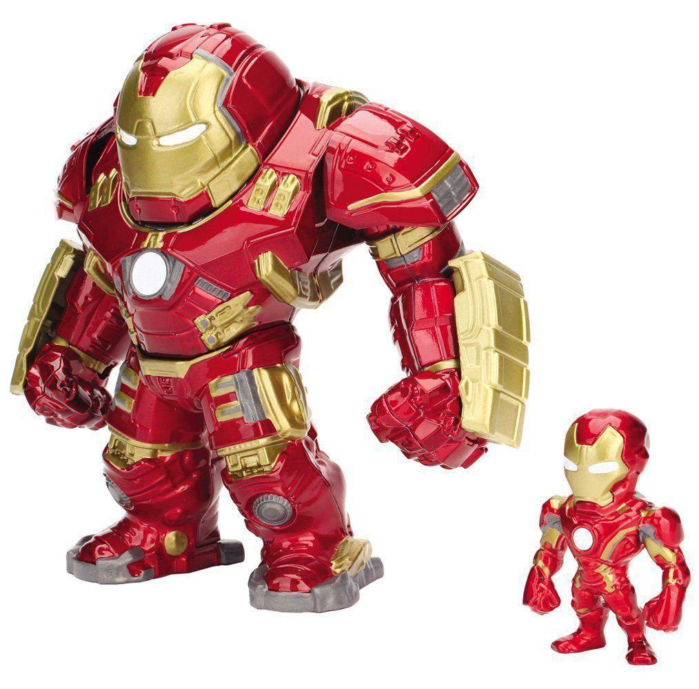 Boneco Homem De Ferro Iron Man Hulkbuster Metal Diecast Jada
