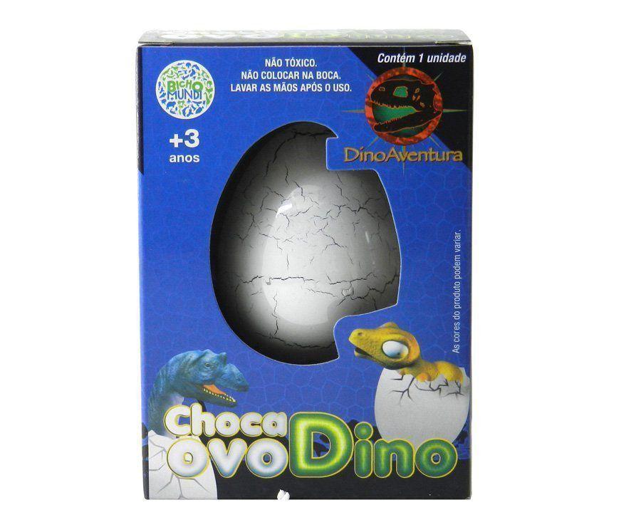 Brinquedo Choca Ovo Dinossauro Nasce E Cresce Na Água - Dtc