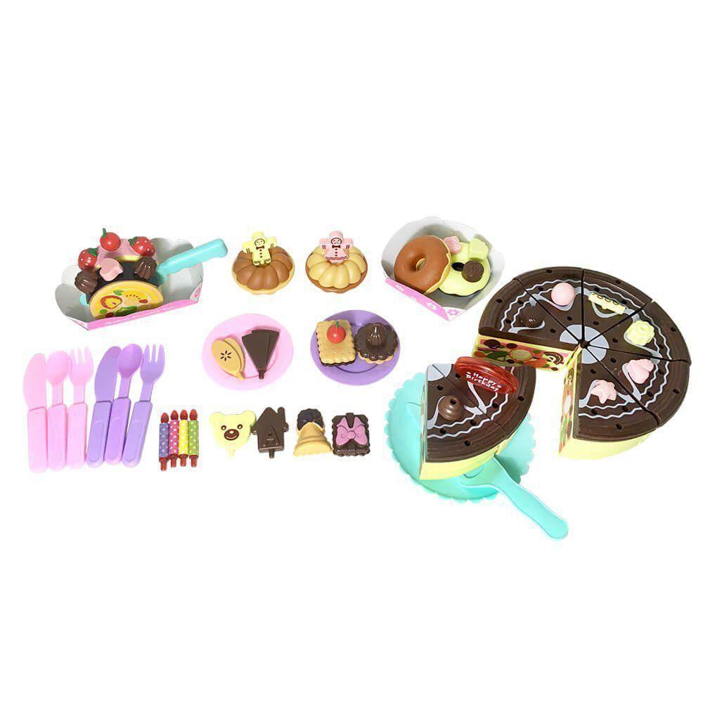Brinquedo Comidinhas Para Festa De Aniversário Multikids BR641