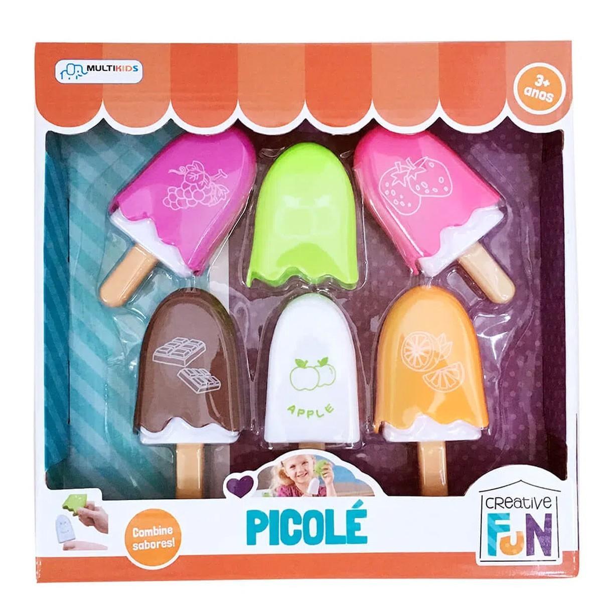 Brinquedo Creative Fun Picolé Multikids Br644