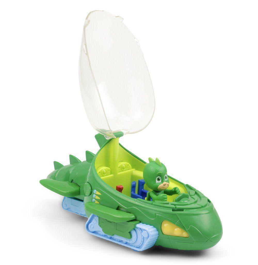 Brinquedo Disney Pj Masks Largatixomóvel Luz Som + Largatixo DTC 4160