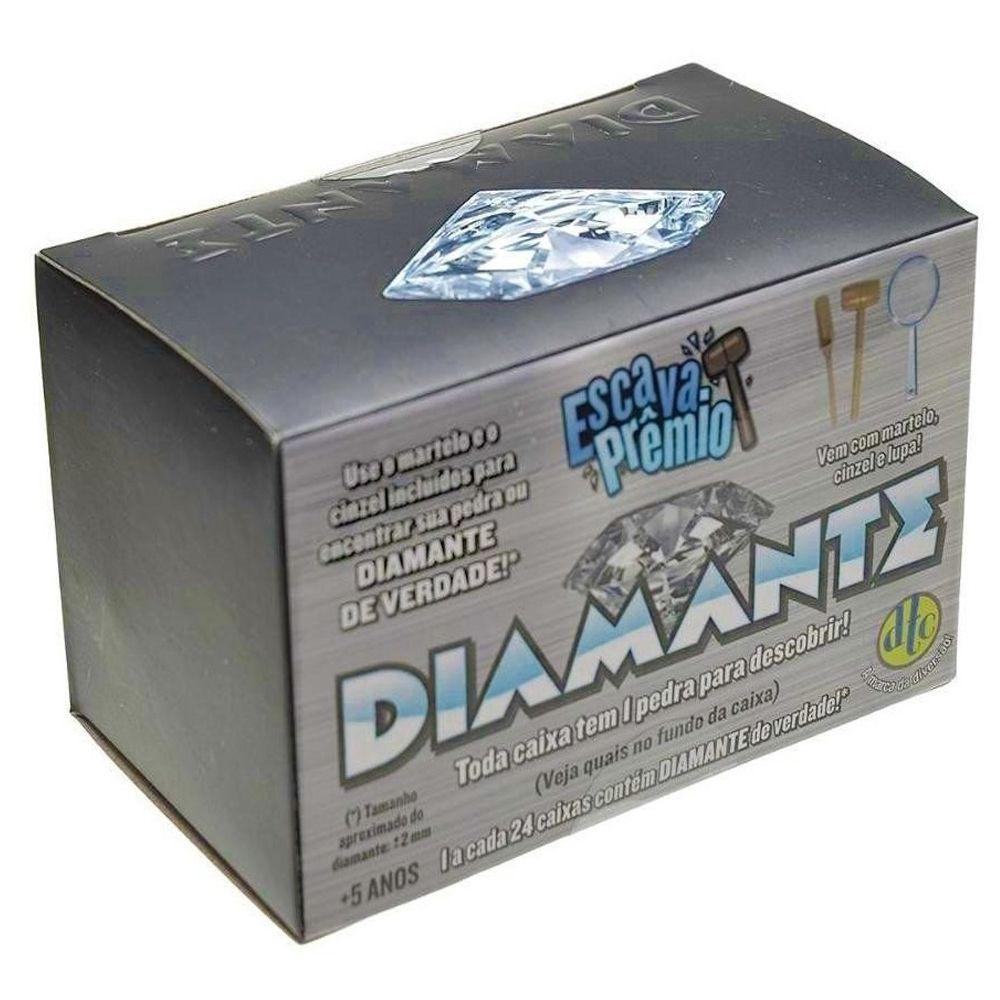 Brinquedo Escava Premio Diamante Dtc 4470
