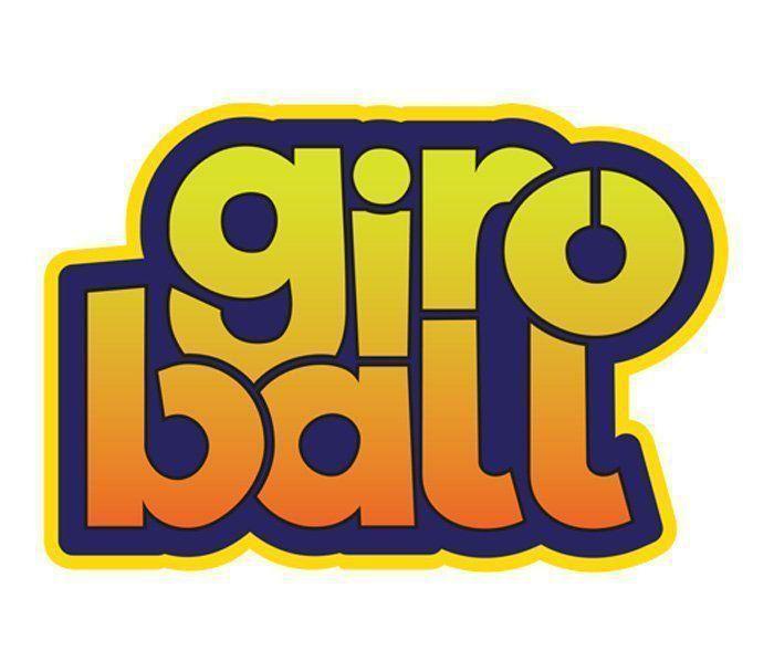 Giroball Brinquedo Com Luzes Pule E Gire Cor Azul Dtc
