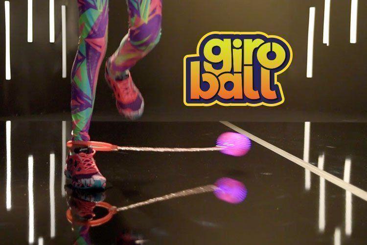Giroball Brinquedo Com Luzes Pule E Gire Cor Rosa Dtc
