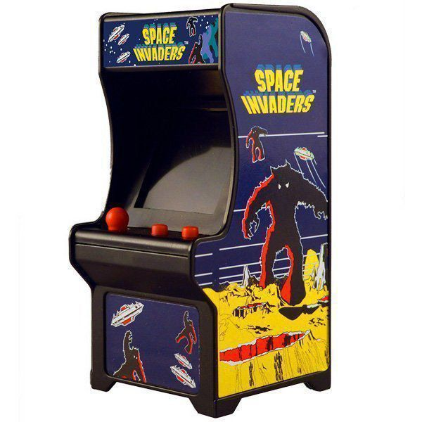 Brinquedo Mini Fliperama Retrô Space Invaders Tiny Arcade 4788