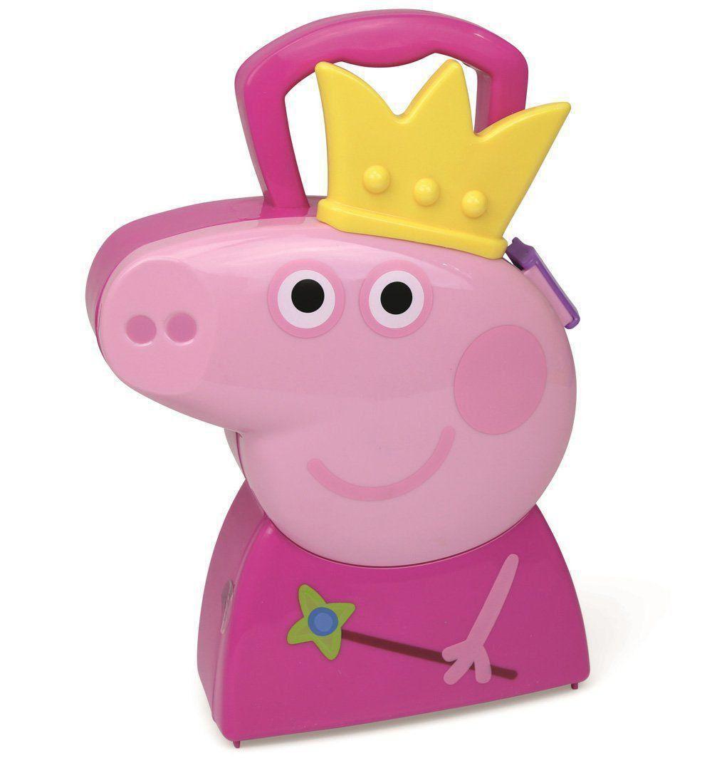 Maleta Infantil Peppa Pig Kit Joias Da Princesa Dtc 4610