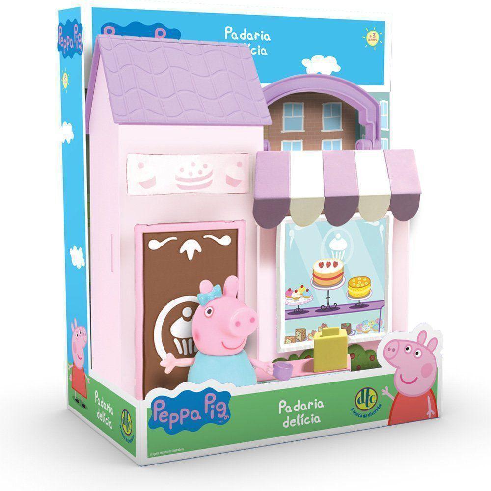 Brinquedo Peppa Pig Padaria Delícia Dtc 4607