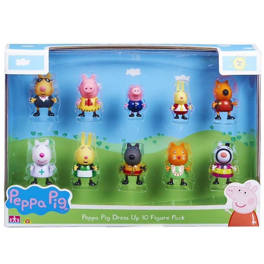 Peppa Pig Peppa Fantasia 10 Figuras DTC 4859