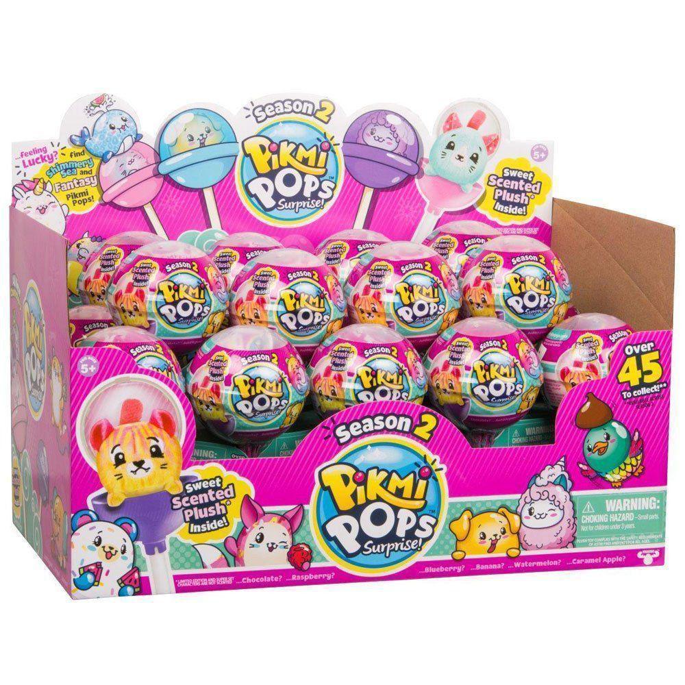 Pikmi Pops Kit Surpresa Com 1 Pelúcias com Acessorios Dtc