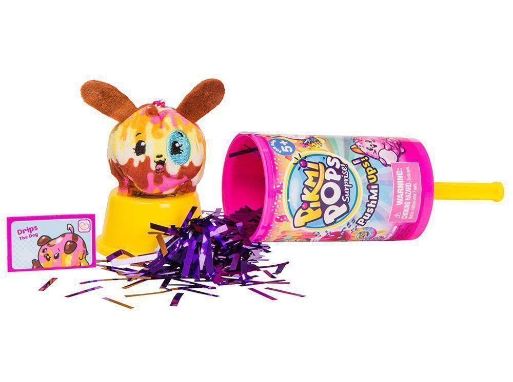 Brinquedo Pikmi Pops Picolés Surpresas Dtc 4839