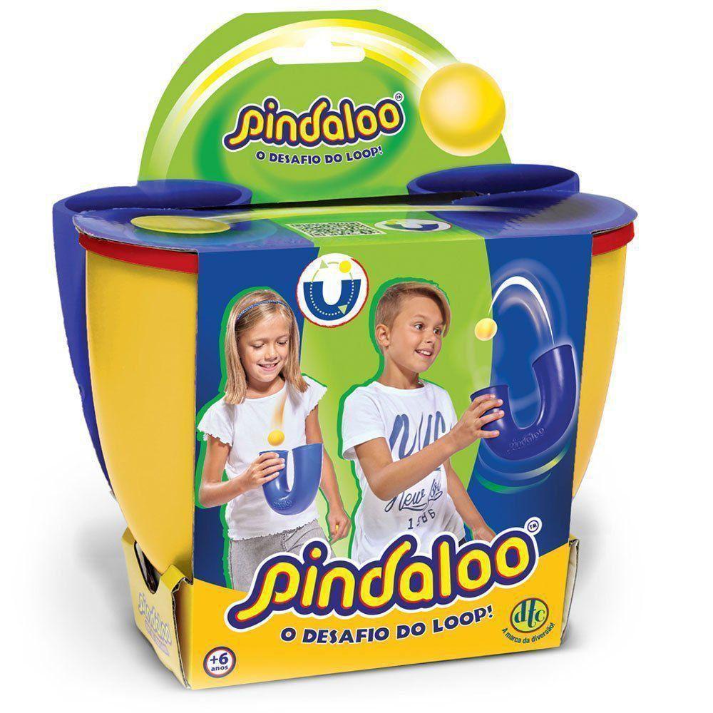 Brinquedo Pindaloo Amarelo O Desafio do Loop Dtc - 4837