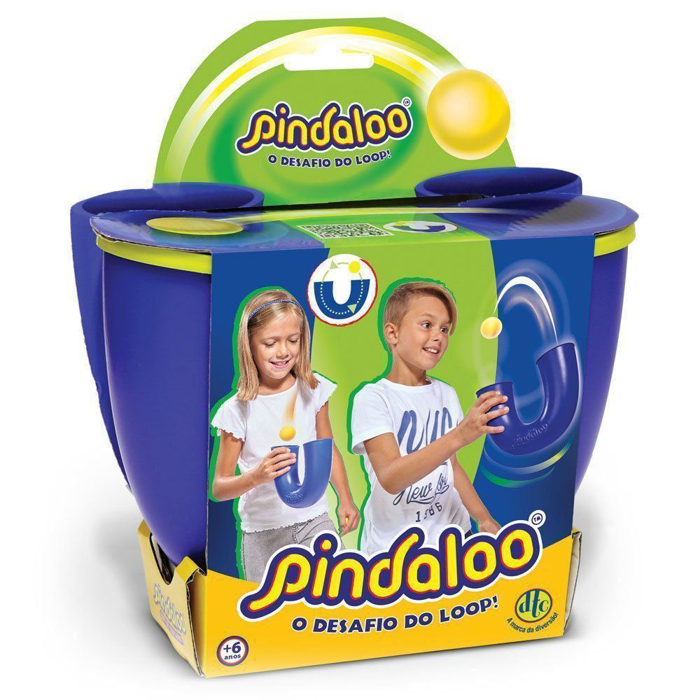 Brinquedo Pindaloo Azul O Desafio do Loop Dtc - 4837