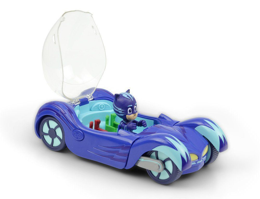Brinquedo Pj Masks Felinomóvel Veiculo Luz E Som Menino Gato DTC 4160
