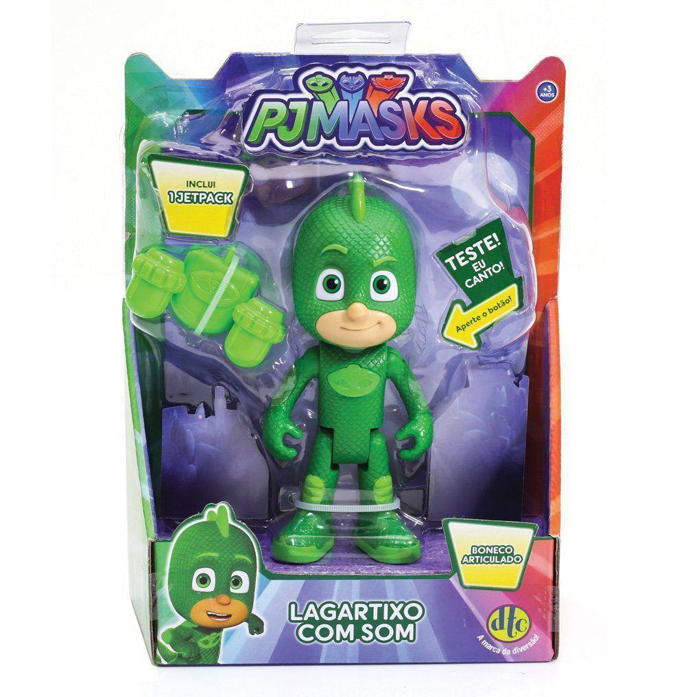 Brinquedo Pj Masks Largatixo Boneco com Som - 4661