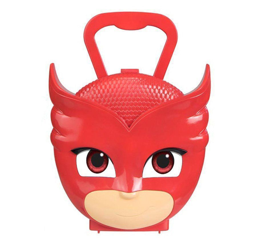 Maleta Infantil Kit Ação Pj Masks Corujita Dtc 4595