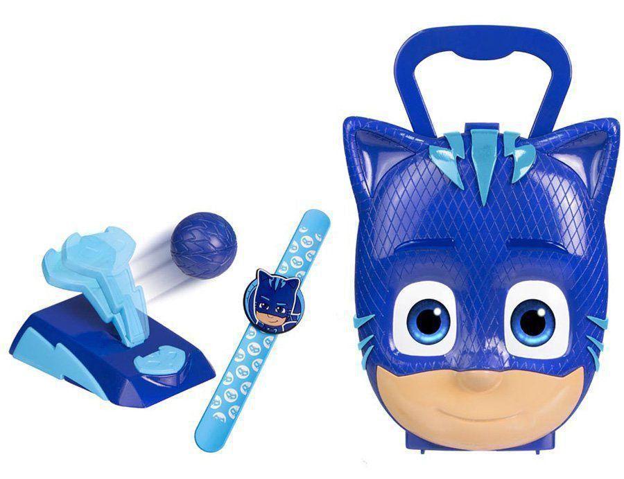 Maleta Infantil Kit Ação Pj Masks Menino Gato Dtc 4595