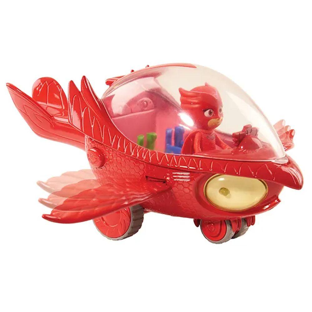 Brinquedo Pj Masks Planador Coruja Veiculo Luz Som Corujita DTC 4160