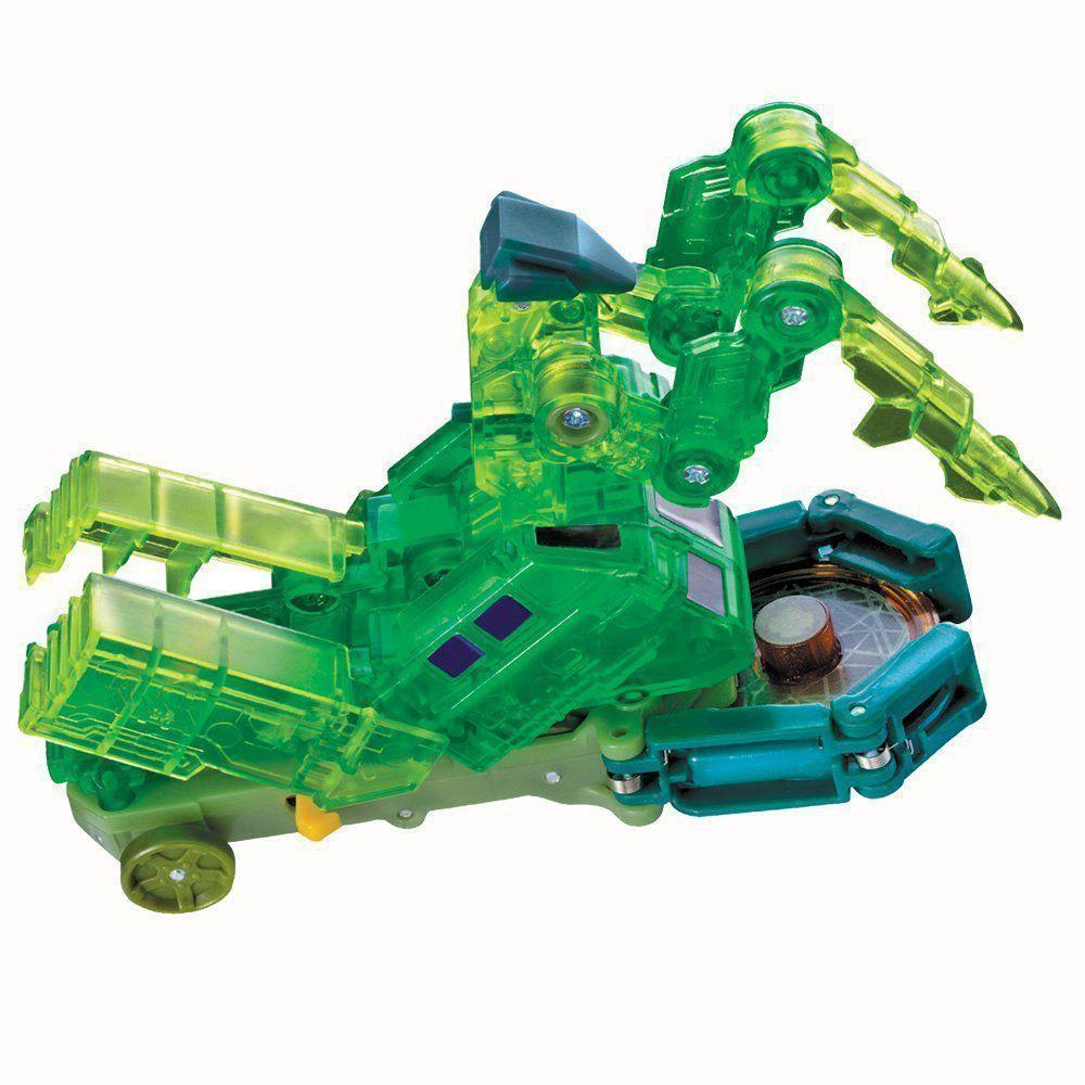 Brinquedo Screechers Gatecreeper com 3 Discos 4719