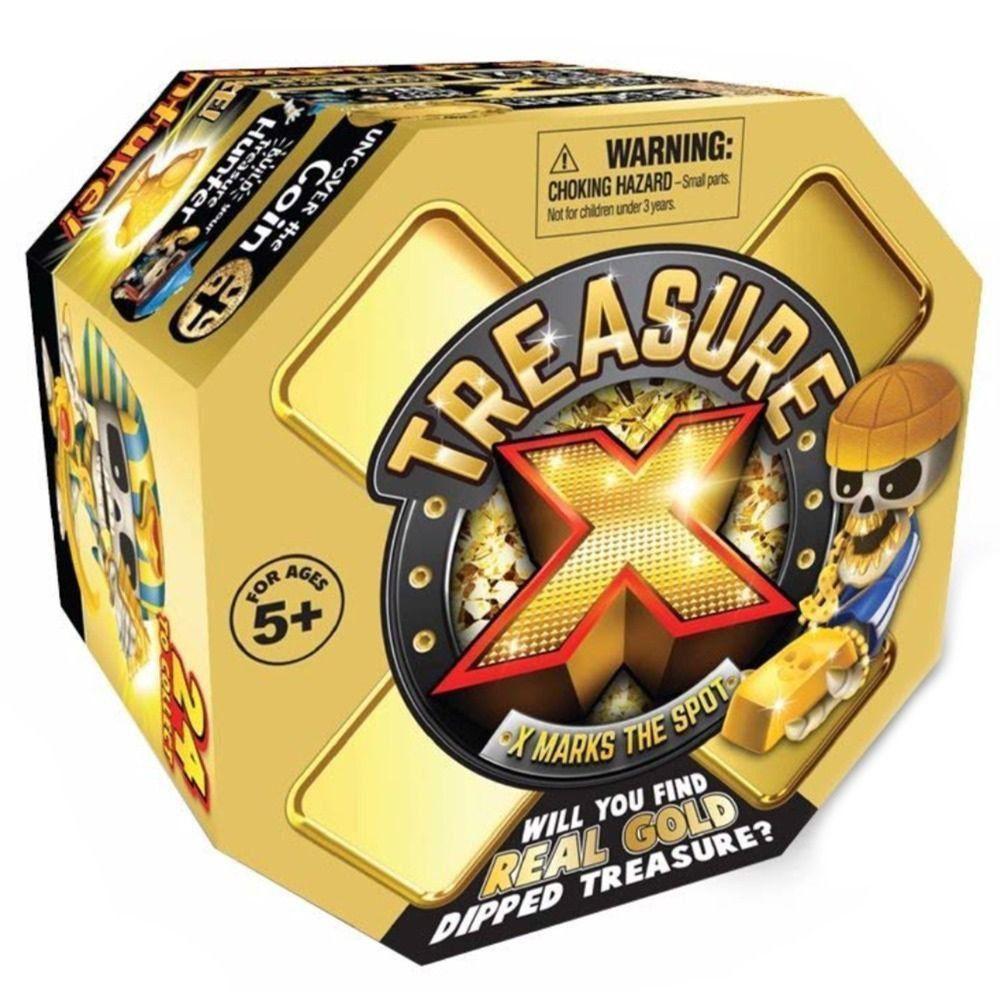 Brinquedo Treasure X Escava Ouro 24 Personagens Colecionáveis Dtc 5051