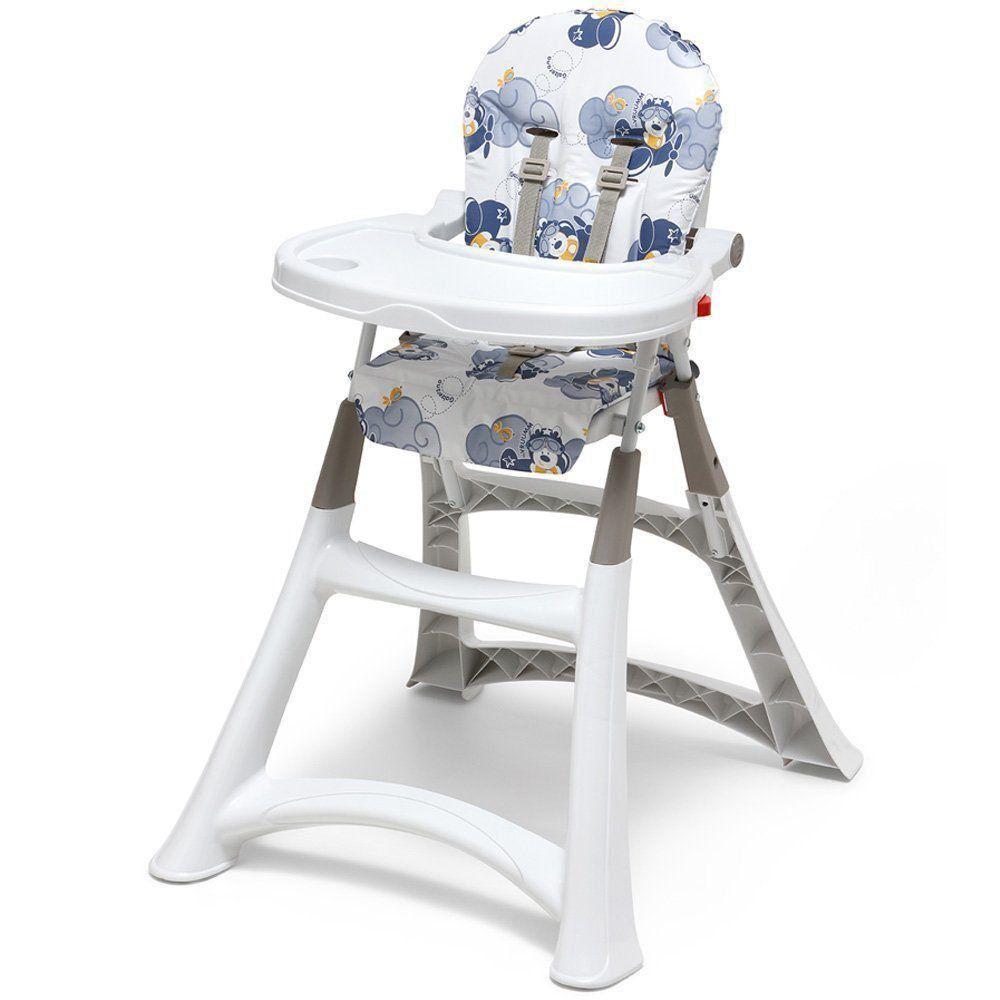 Cadeira Alimentação Portatil Bebe Galzerano Refeição Aviador 5070AV