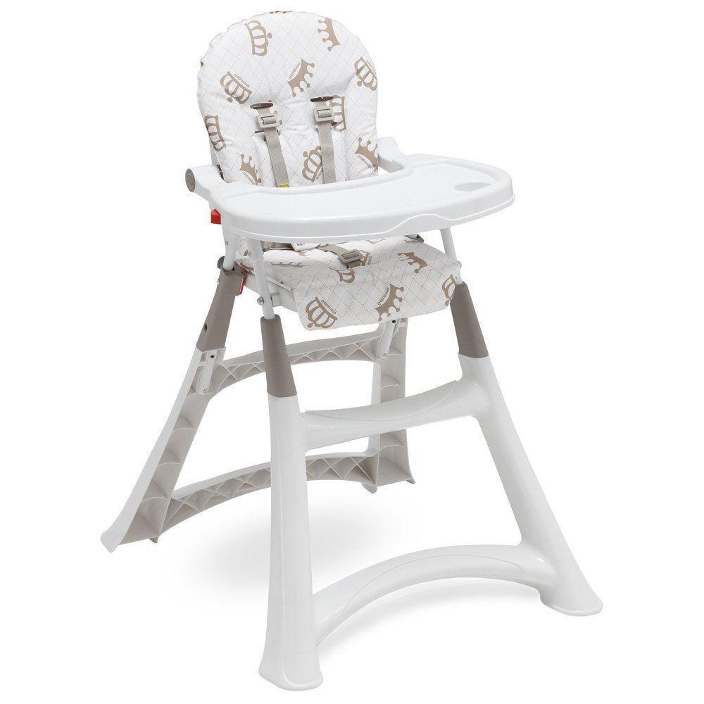 Cadeira Alimentação Portatil Bebe Galzerano Refeição Real 5070RL