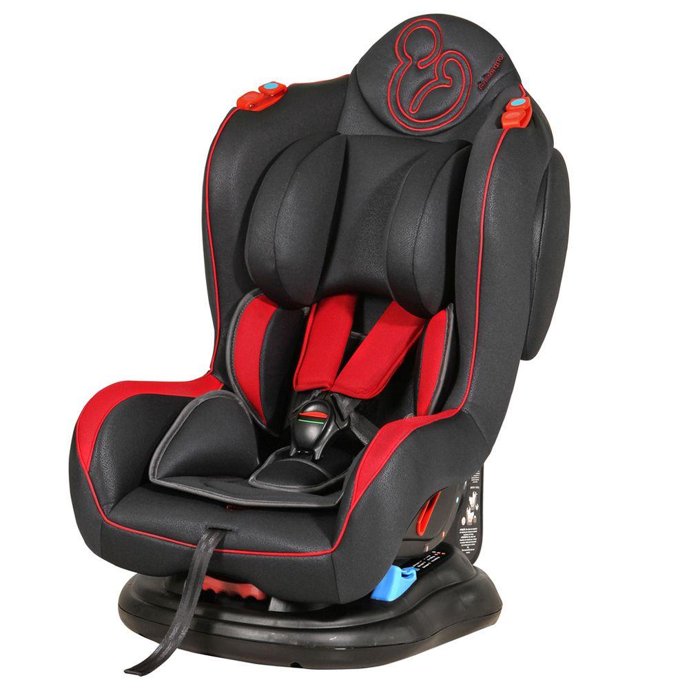 Cadeira Carro Galzerano Transbaby Grafite Vermelho 0 A 25 Kg 8050GRV Com Protetor Solar