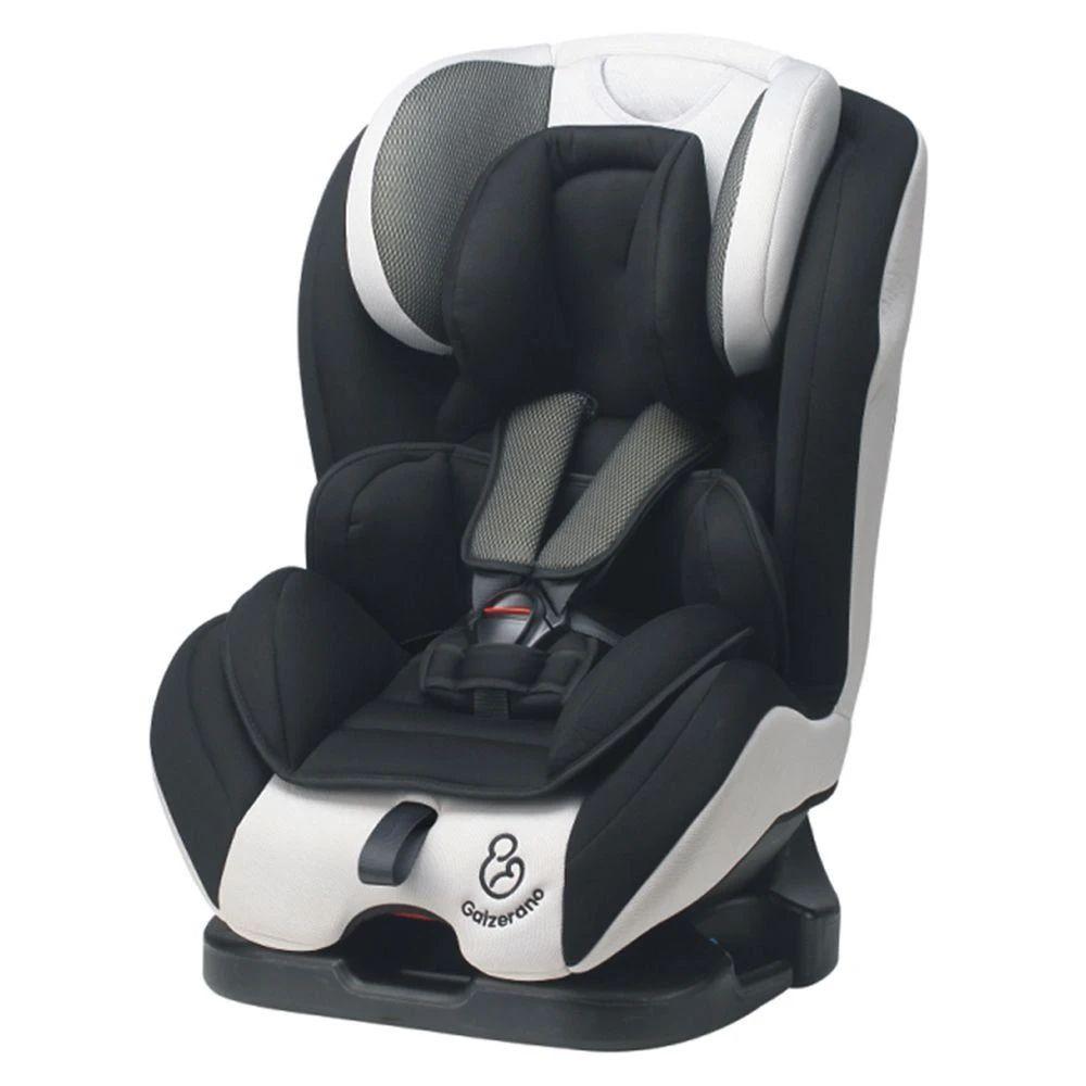 Cadeira de Bebê Criança para Auto Preto Cinza Long Life Galzerano