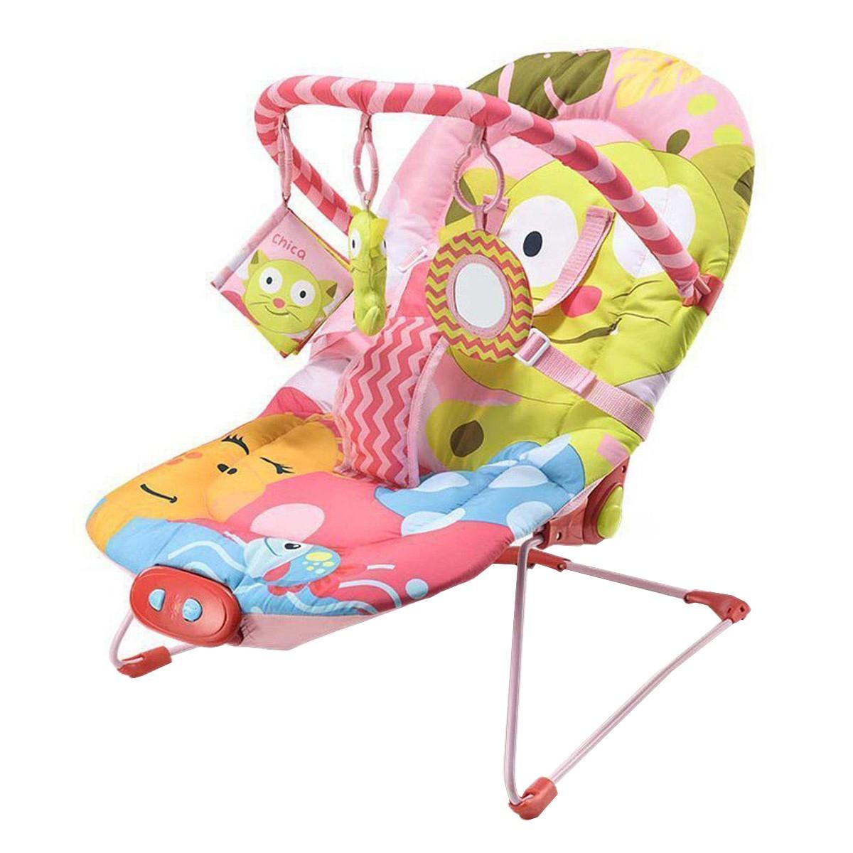 Cadeira De Descanso Para Bebês 0-15 Kg Little Nap Cats Multikids Baby BB361