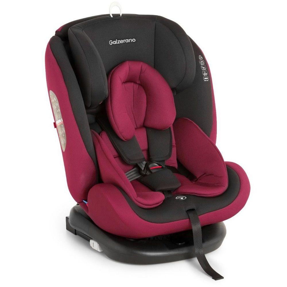 Cadeira Para Auto Gaia Preto Vinho 0 a 36 Kg - Galzerano