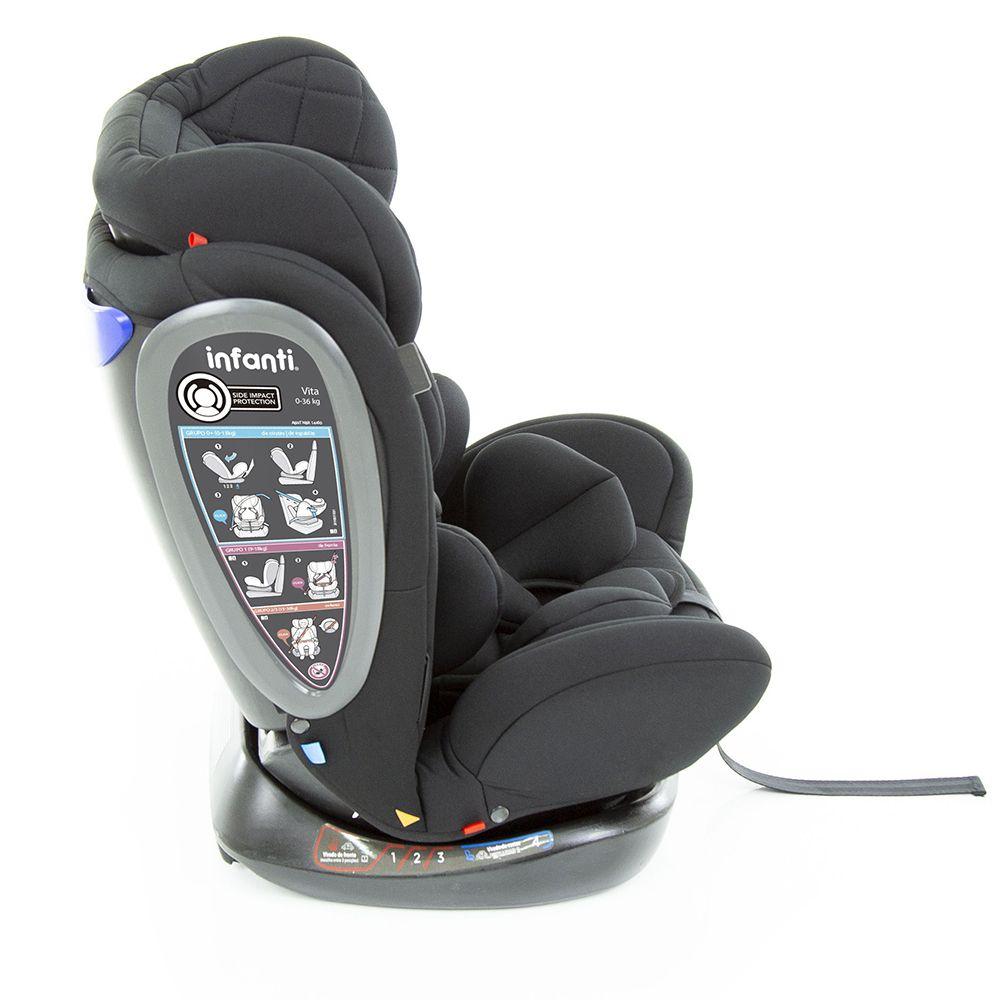 Cadeira Para Auto Vita Black Strong Vita Infanti 0 Meses Até 36 Kg