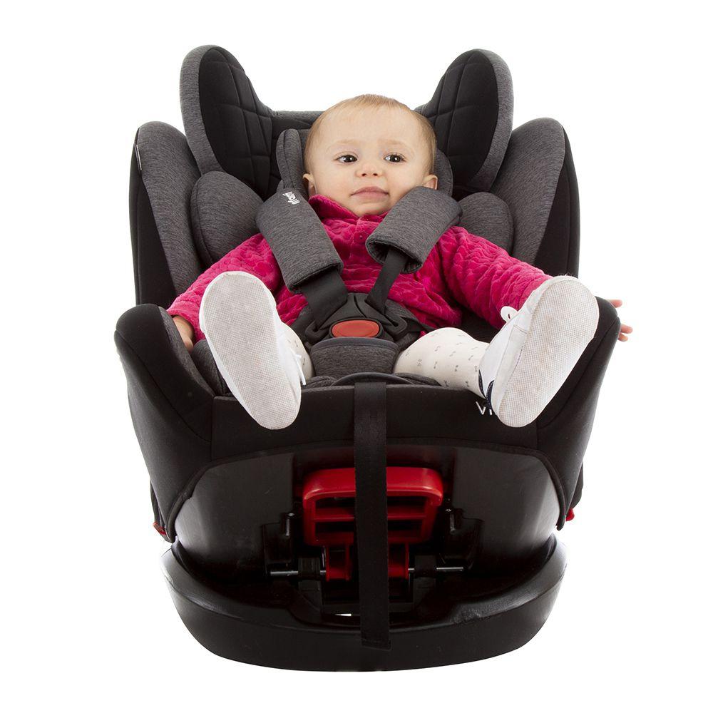 Cadeira Para Auto Vita Grey Fuzz Vita Infanti 0 Meses Até 36 Kg