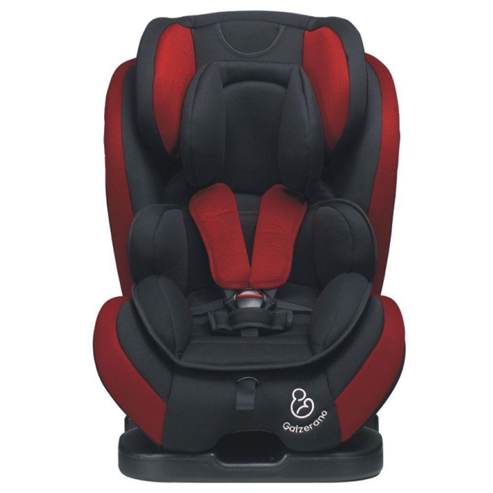 Cadeirinha de Bebê Criança para Auto Até 36 Kg Galzerano Long Life Preto e Vinho 8040PTV