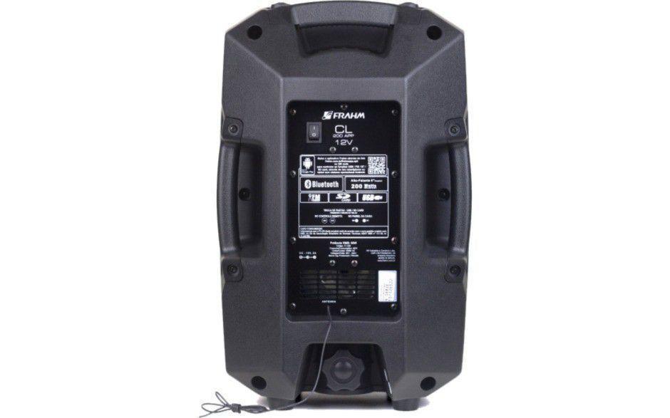 Caixa Amplificada Cl200 Com Bateria 12v 60w Bluetooth App