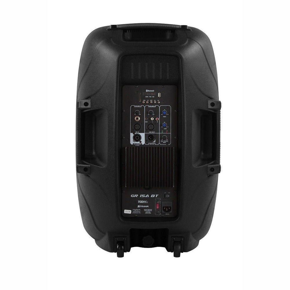 Caixa Amplificada Com Tripé Frahm Groov GR15A BT 350W Bluetooth