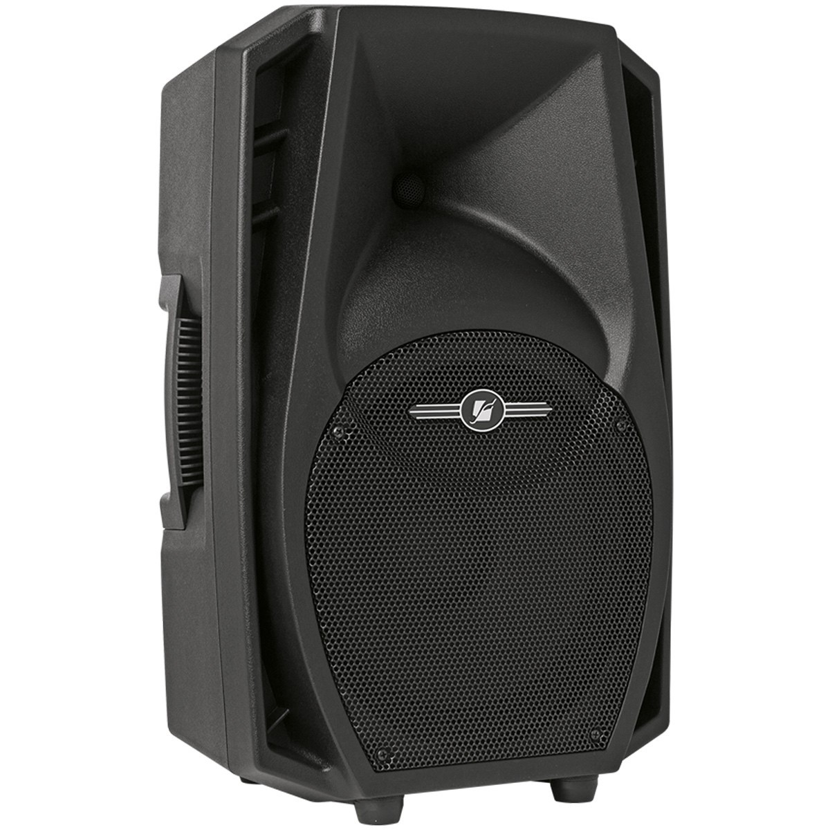 Caixa Amplificada Frahm PS12 Ativa 200wrms Usb BT SD FM Som