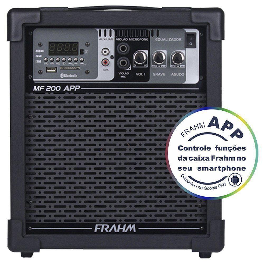 Caixa Amplificada Multiuso Frahm MF200 APP 60W RMS