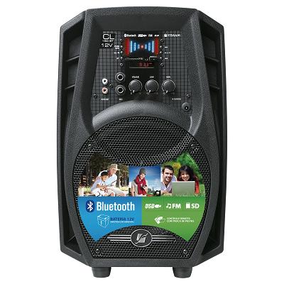 Caixa Amplificada Portátil Cl150 Bt 12v Bluetooth/ Bateria