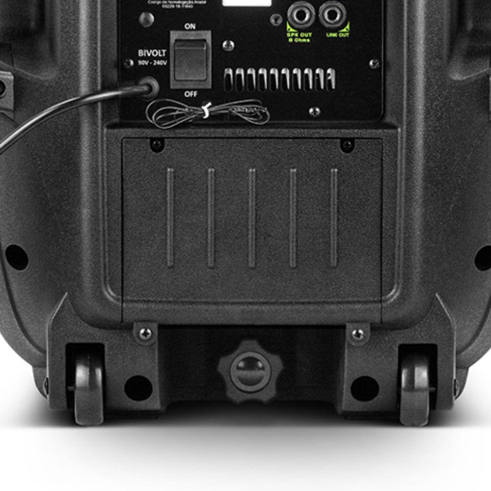 Caixa Ativa Amplificada Frahm Pw 400 Conexão Wireless