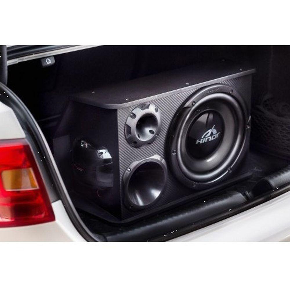 Caixa Automotiva Amplificada Hinor Box Trio One