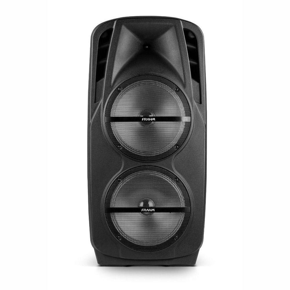 Caixa Bluetooth Portátil Com Tripé e Microfone CM 1800 Frahm 1800W