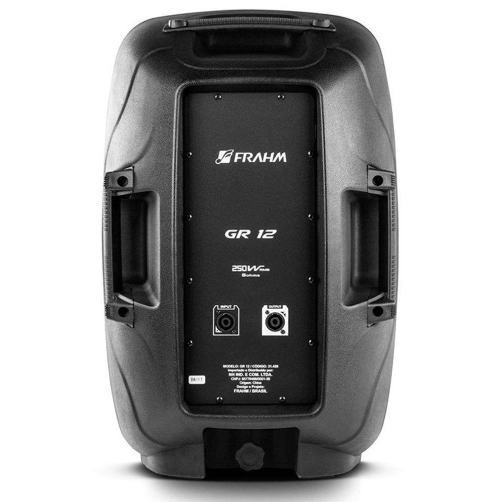 Caixa De Som Acústica Frahm Gr 12 Passiva Groov 250W