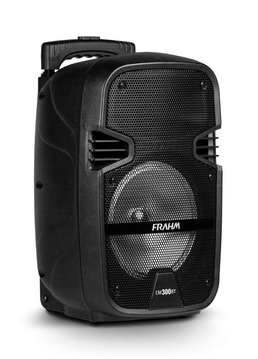 Caixa Amplificada Multiuso Portatil Frahm Cm 300 Bluetooth