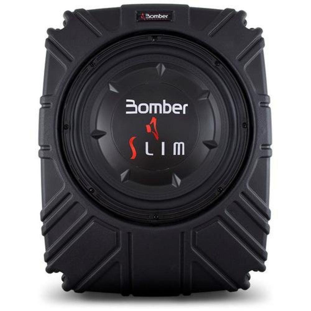 Caixa Slim Selada Bomber 8 Polegadas Passiva 200W Rms 4 Ohms