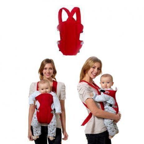 Canguru Carregador Bebê Importway Rosa 3 Em 1 Até 14 Kg