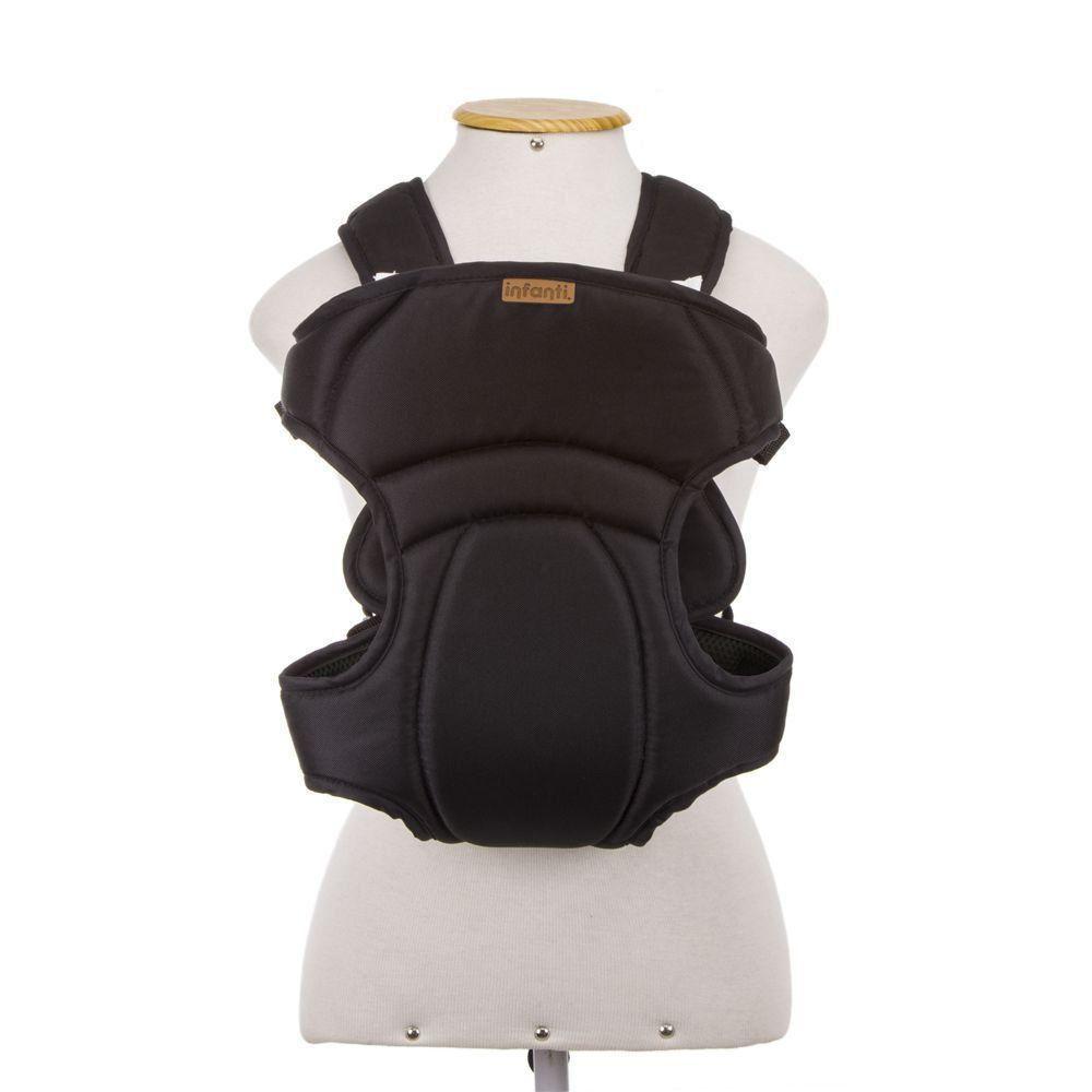 Canguru Carregador de Bebê I Love Travel Black Infanti