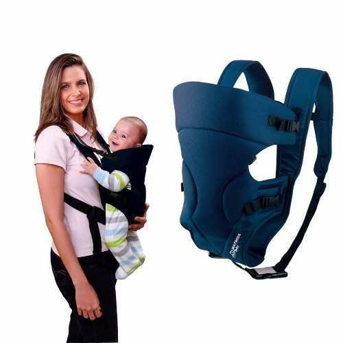 Canguru Para Bebê Baby Safe Azul Multikids Baby Bb004