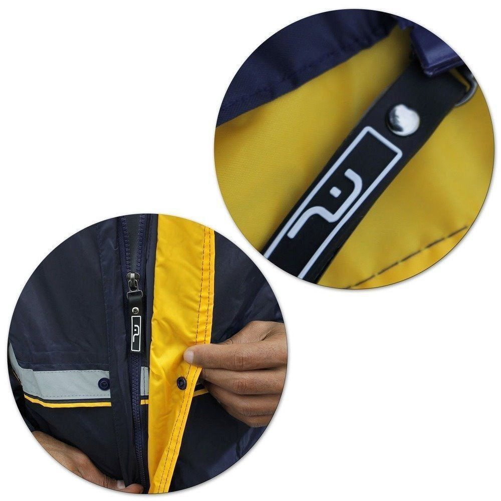 Capa Chuva G Motoqueiro Motoboy Moto Impermeável Multilaser